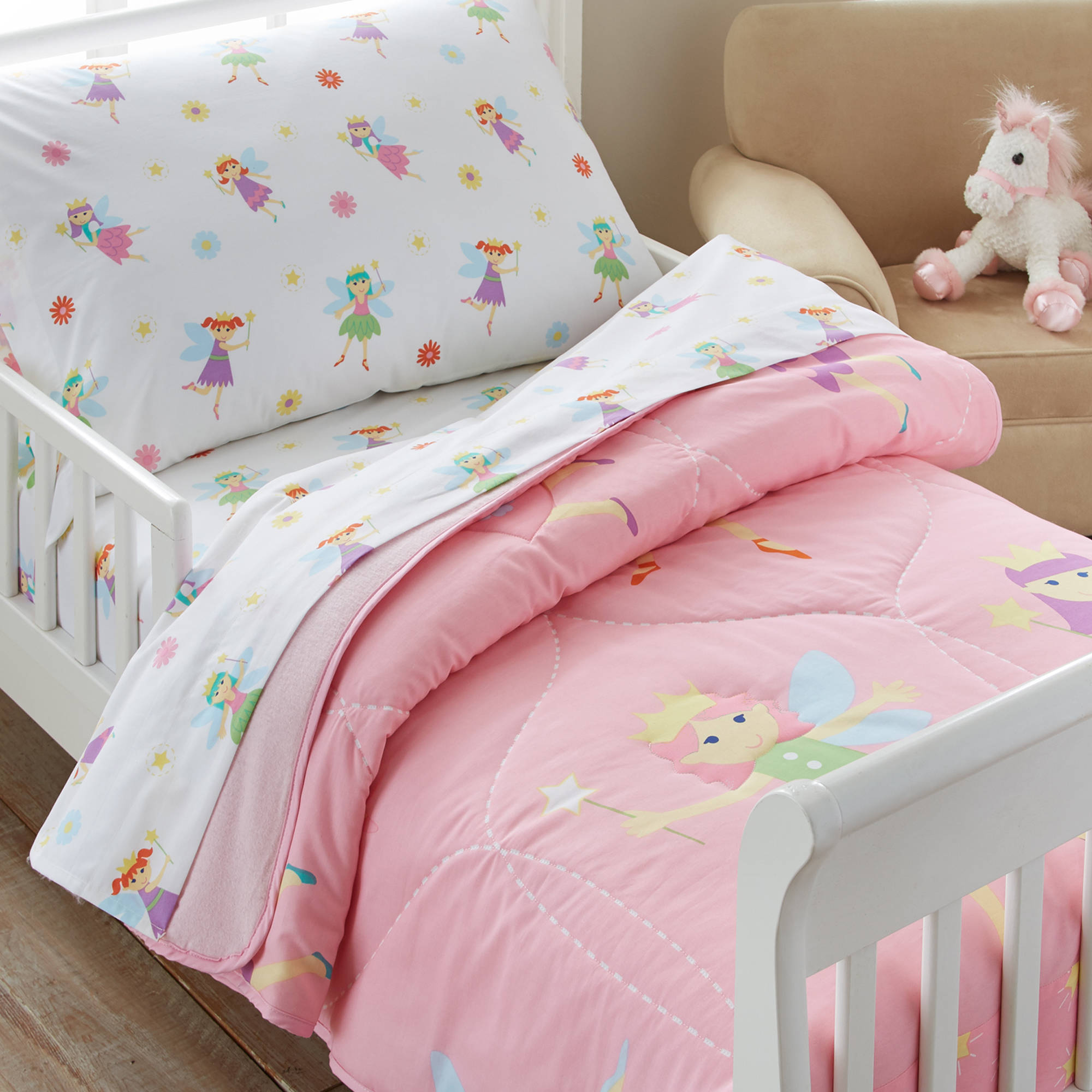 ultra bed twin home princess factory dream girls kitchen dp ca microfiber soft pink magical set amazon comforter