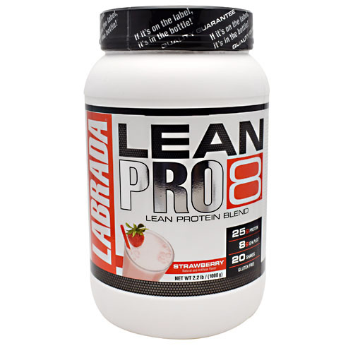 Labrada Nutrition LeanPro8 Strawberry - 2.2 lbs (1000 g)