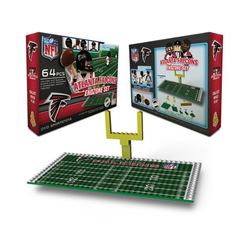 Atlanta Falcons NFL Endzone Set