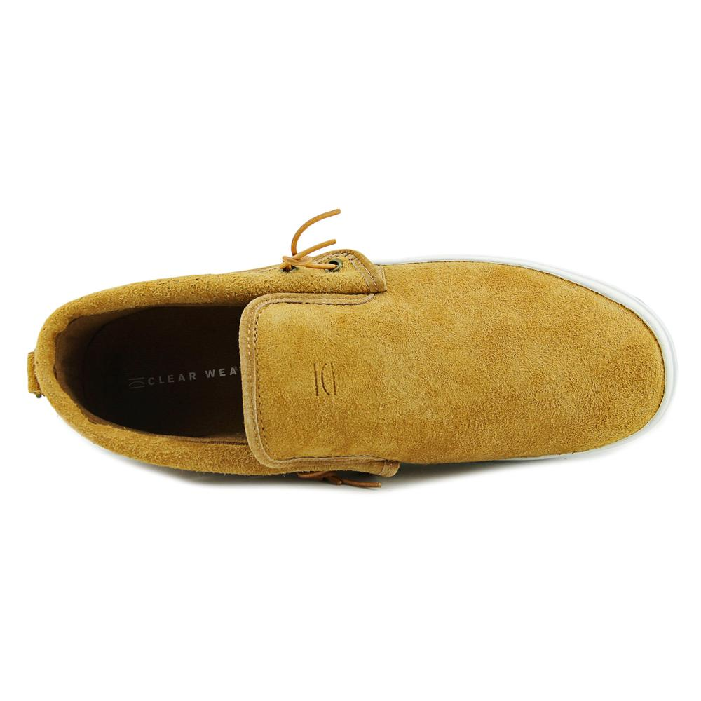 Clear Weather Men's Lakota Suede Honey Ankle-High Slip-On Shoes - 10.5M