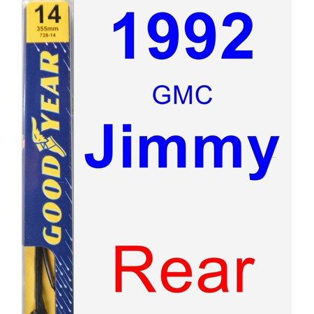 1992 GMC Jimmy Rear Wiper Blade - Premium - Blades Of Glory Jimmy
