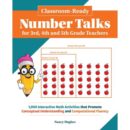 Classroom-Ready Number Talks for Third, Fourth and Fifth Grade Teachers : 1000 Interactive Math Activities That Promote Conceptual Understanding and Computational Fluency - Halloween Reading Activities 3rd Grade