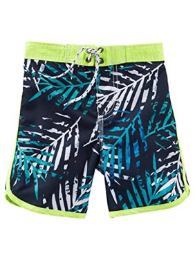 da0e1463f5 Product Image OshKosh B'gosh Big Boys' Bathing Swim Trunks- Palms- Size ...