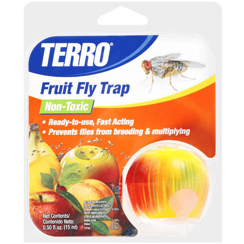 Terro: Non-Toxic Ready-To-Use Fruit Fly Trap, .5 Fl Oz