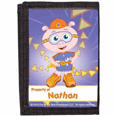 Alpha Pig (Personalized Super Why! Alpha Pig Wallet )