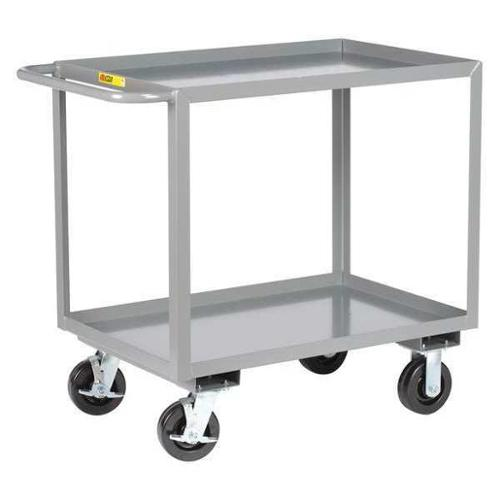 LITTLE GIANT 2GL-2436-6PHBK Utility Cart, Steel, 42 Lx24 W, 3600 lb.