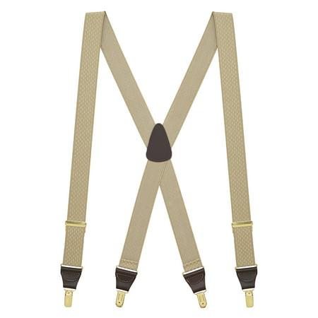 Suspender Store - Suspender Store Jacquard Checkered Suspenders - CLIP -  Walmart com