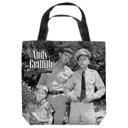 Andy Griffith Lawmen Tote Bag White 16X16