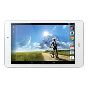 "Acer ICONIA Tab 8 A1-840FHD-10G2 - Tablet - Android 4.4 (KitKat) - 16 GB eMMC - 8"" IPS (1920 x 1200) - USB host - microSD slot - white, silver"