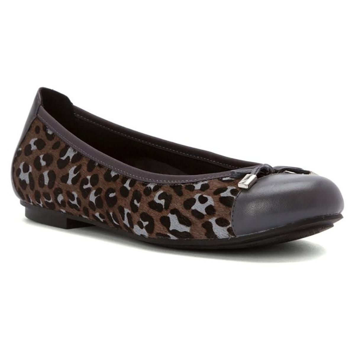 Vionic Minna Patent Leather Cap-Toe Flats