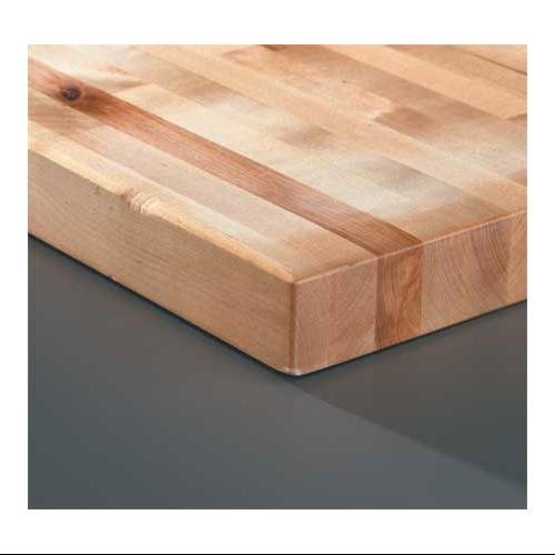 WB Manufacturing 975 30X72 Workbench Top, Hardwood, 30x72x1-3\/4