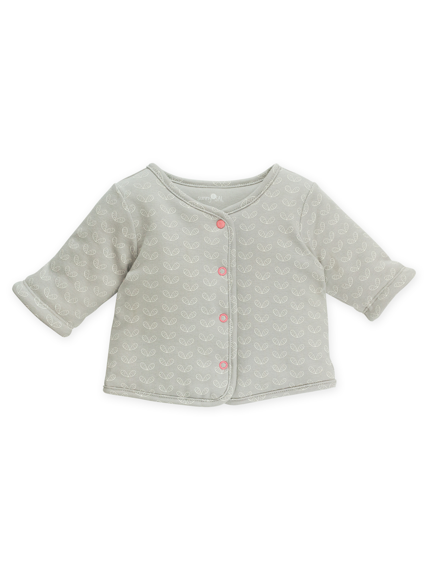 sunny & sal button front cardigan (baby girls)