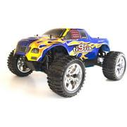 ALEKO 1/10th Scale RCC1088UBLUE 4WD Nitro Powered Monster Truck