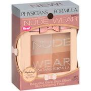 Physicians Formula Nude Wear Glowing Nude Powder, 6218 Medium, 0.24 oz