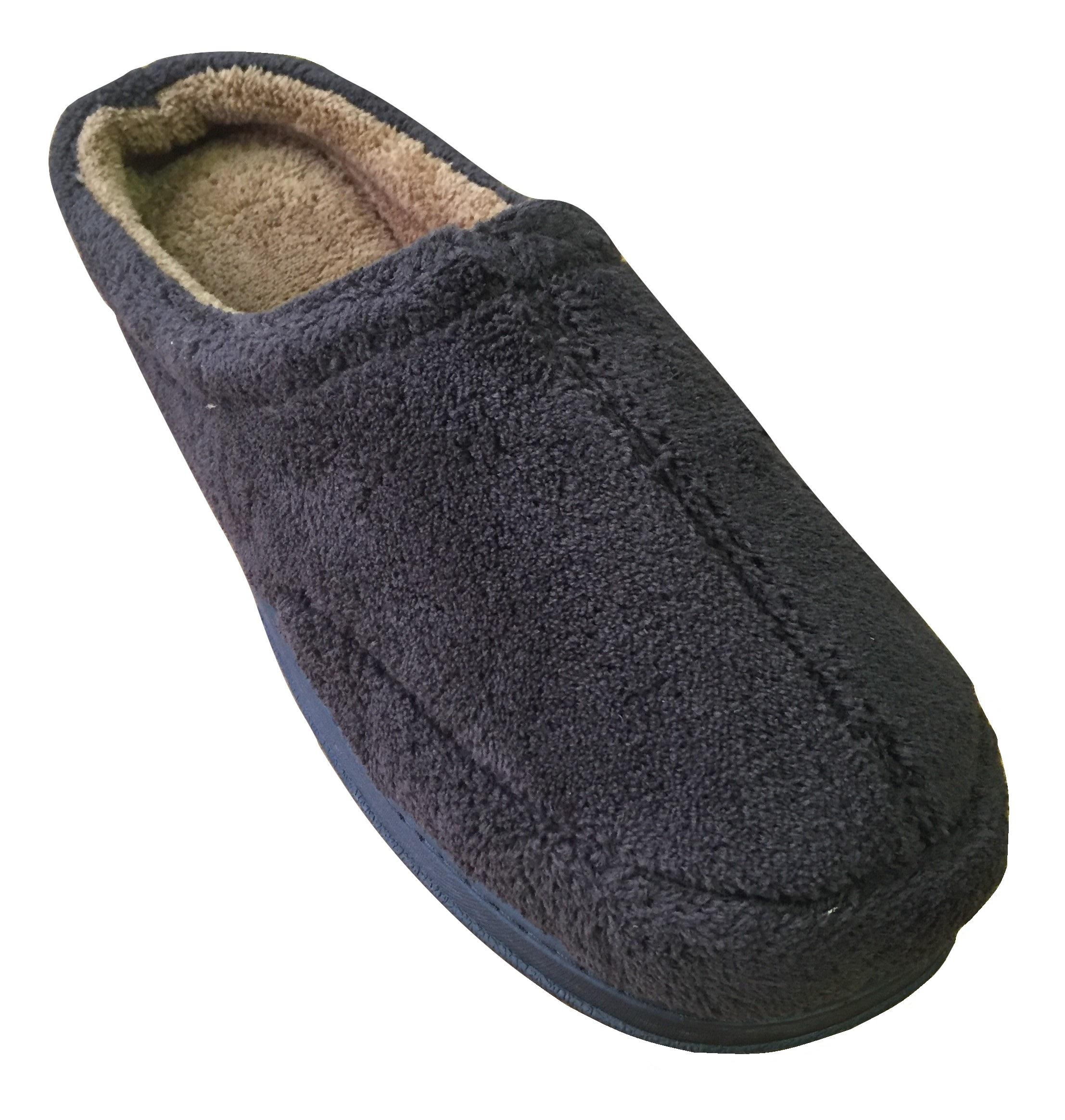 Dearfoams Men's Microfiber ... Clog Slippers