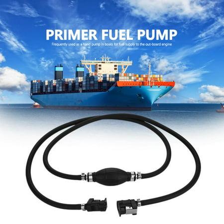 Fuel Pump Line,Yosoo Boat Fuel Pump Line Hand Primer Bulb Gas Outboard Petrol Fuel Line,Fuel Hand Pump - image 6 de 6