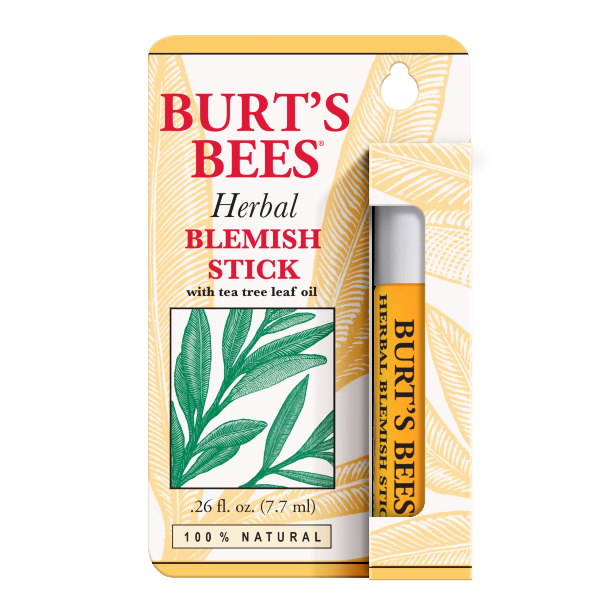 Burt's Bees 100% Natural Herbal Blemish Stick, 0.26 Fluid Ounce