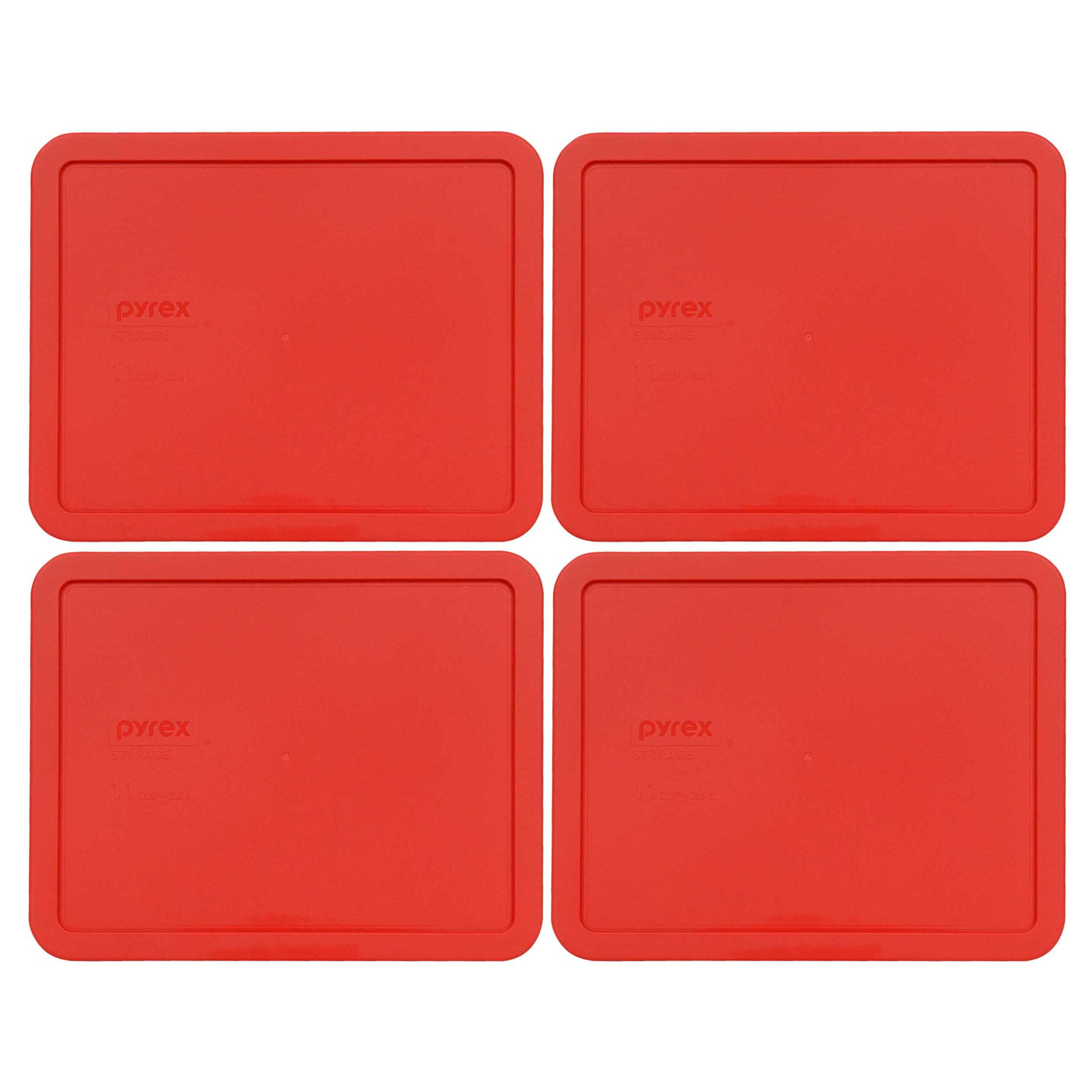 Pyrex Replacement Lid 7212-PC Blue Rectangle Cover (2-Pack) for Pyrex 7212 Dish (Sold Separately)