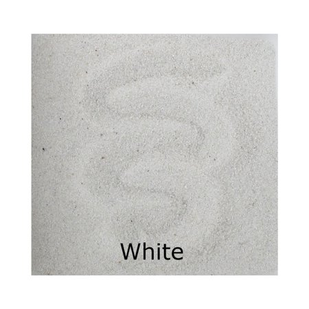ACTÍVA 25 lb. Bag of White Scenic Sand - Bulk Colored Sand