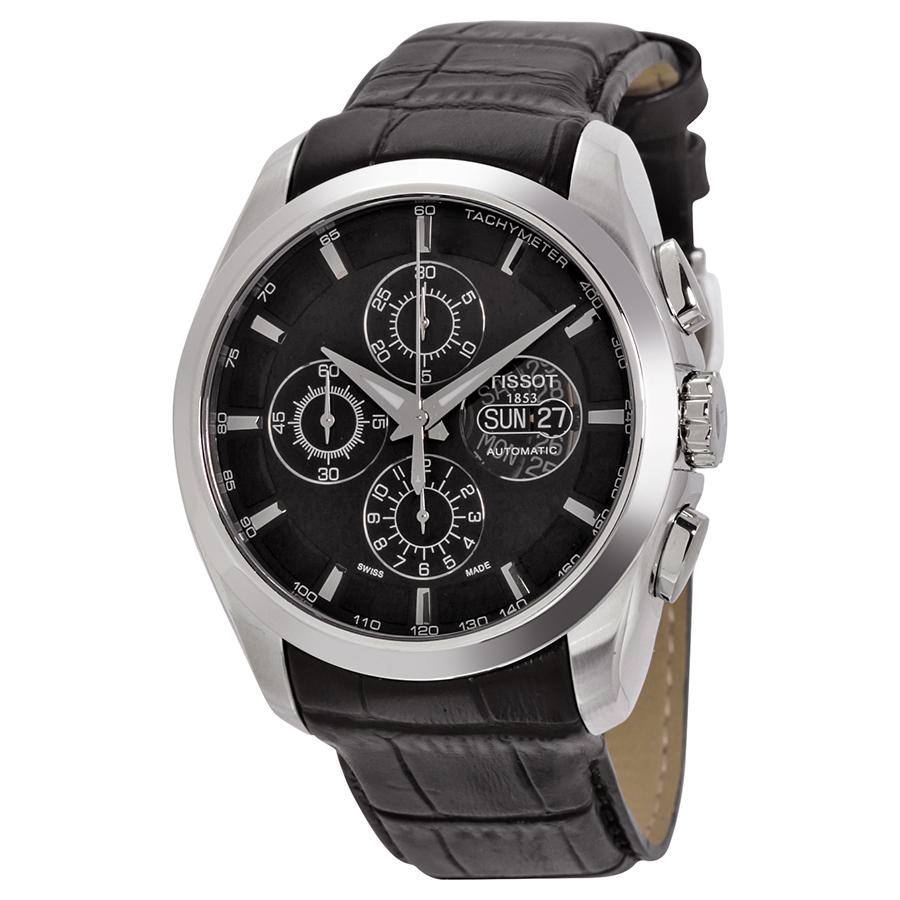 Tissot Couturier Chronograph Valjoux Mens Watch T035.614....