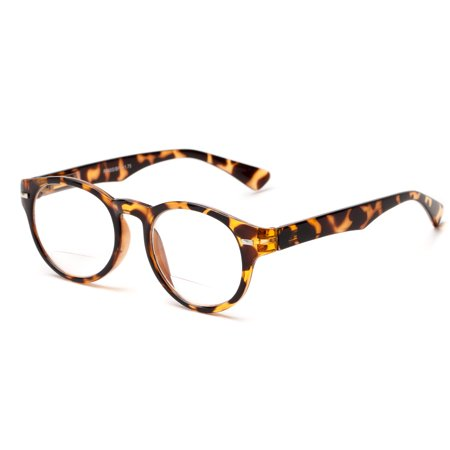 716990e1d111 Readers.com | The Ivy League Bifocal Round Men's & Women's Full Frame Reading  Glasses - Walmart.com