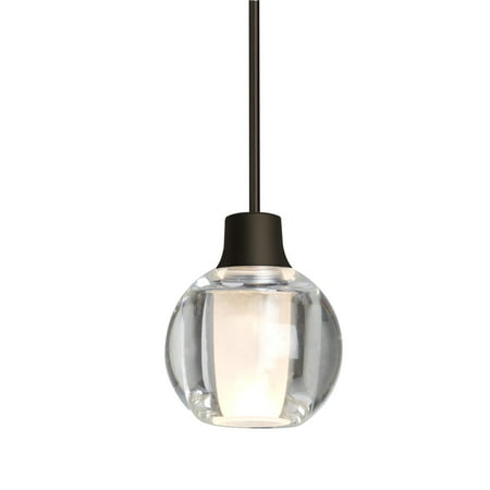Besa Lighting-1XT-BOCA3CL-BR-Boca 3 - One Light Cord Pendant BR: ()