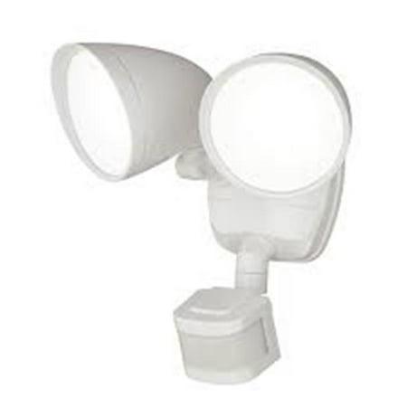 2-Light LED Motion Sensor Security Light,