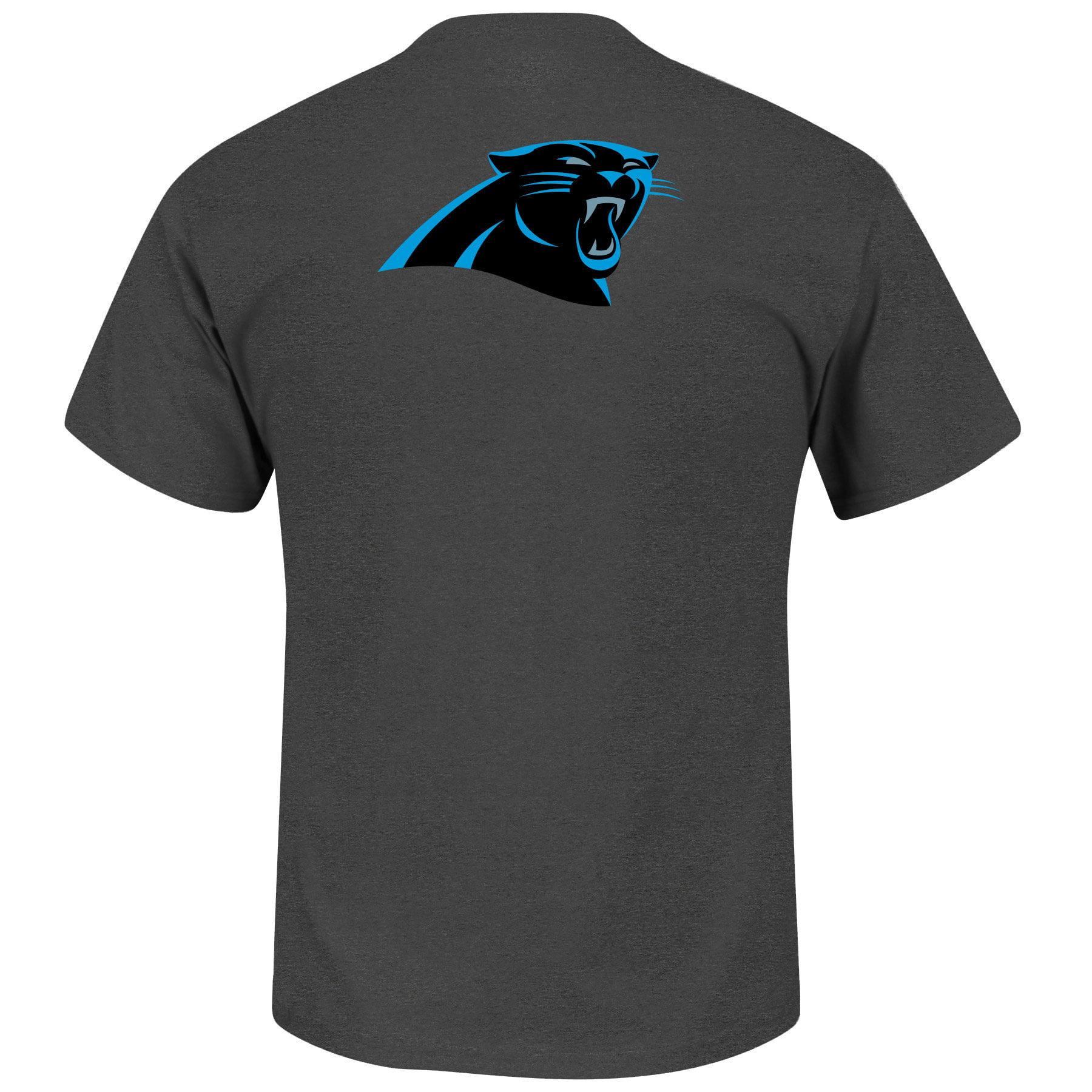 Carolina Panthers Custom Football 2 T-Shirt - Majestic - image 2 of 2
