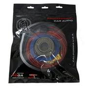 Bullz Audio BGE10RP 10 Gauge Car Power Amplifier/Amp Installation Wiring Kit