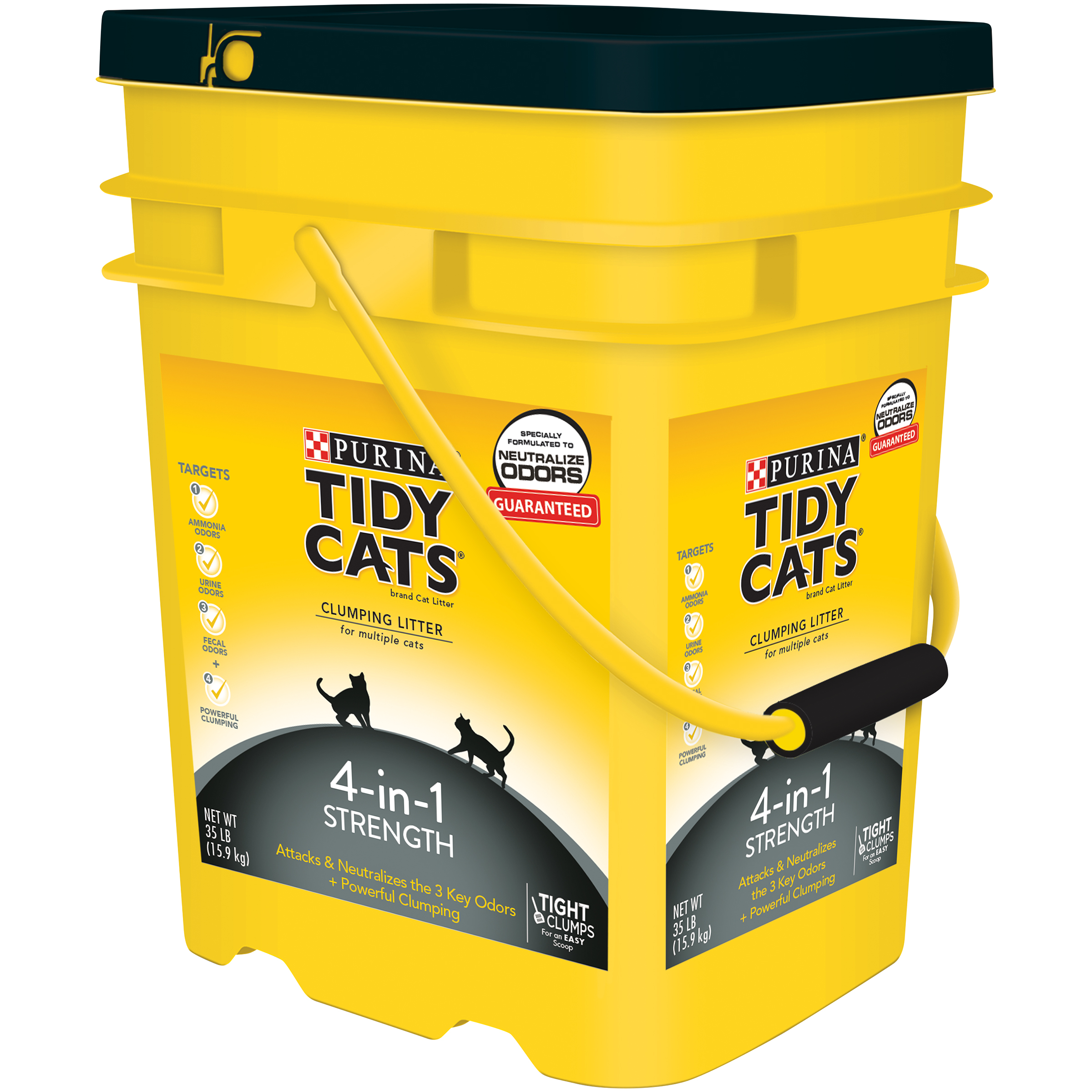 Purina Tidy Cats Clumping Litter 4 In 1 Strength For