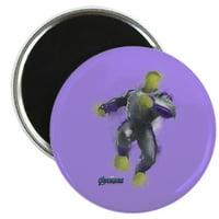 "CafePress - Hulk Avengers Endgame - 2.25"" Round Magnet, Refrigerator Magnet, Button Magnet Style"