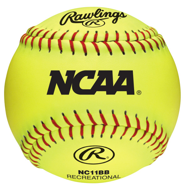 Rawlings NCAA 11 inch Branded Recreational Fastpitch Ball