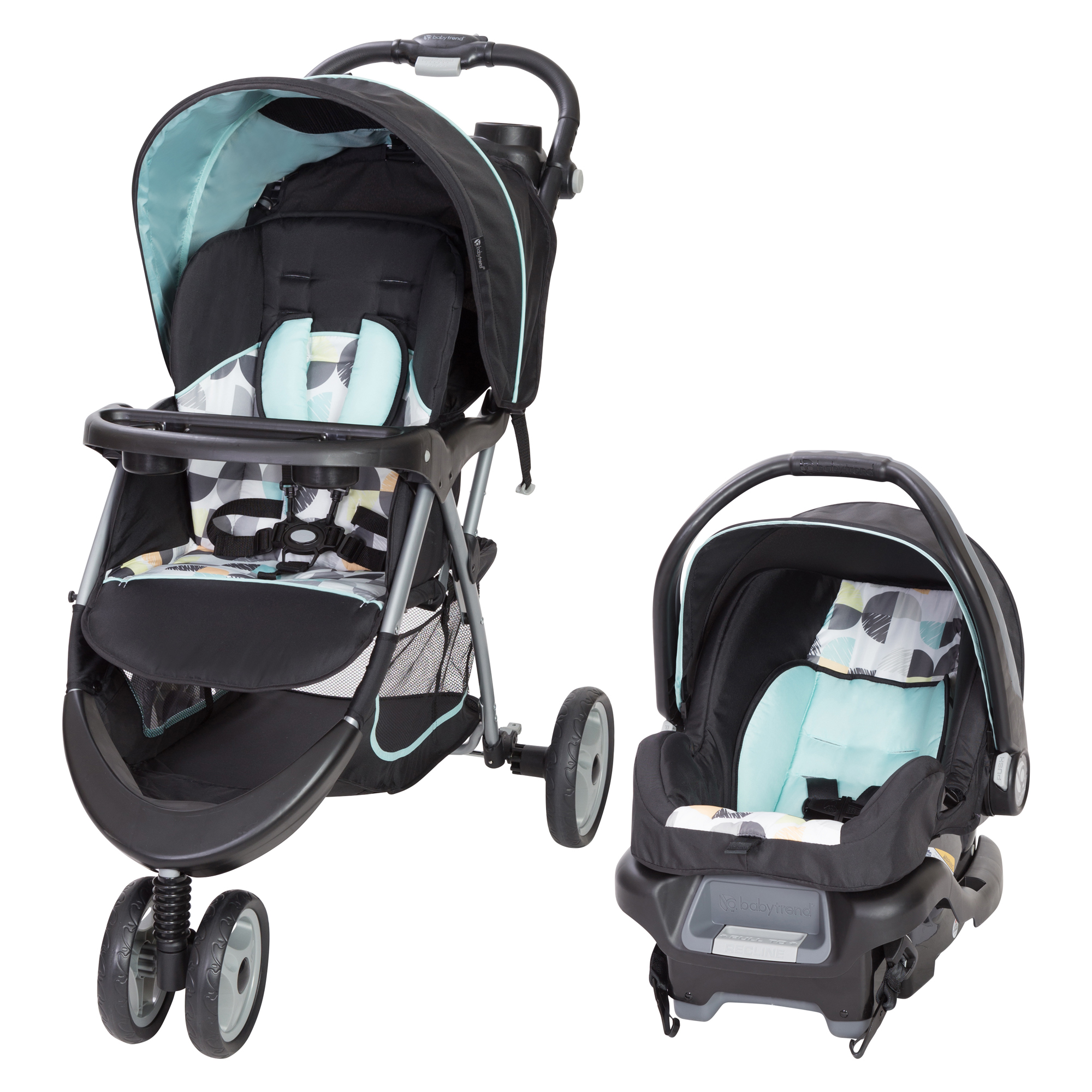 Baby Trend Ez Ride 35 Travel System Doddle Dots Walmart Com