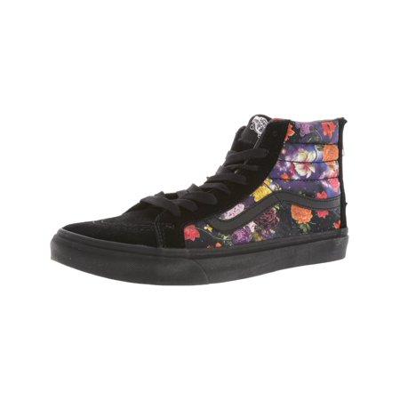 d1ee08e8d802f4 Vans - Vans Sk8-Hi Slim Zip Galaxy Floral Black   High-Top Skateboarding  Shoe - 9.5M 8M - Walmart.com
