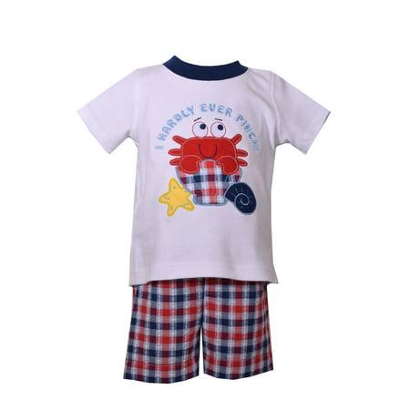 Bonnie Jean Boys Crab Short Set 12 months](Bonnie Jean Halloween Outfit)