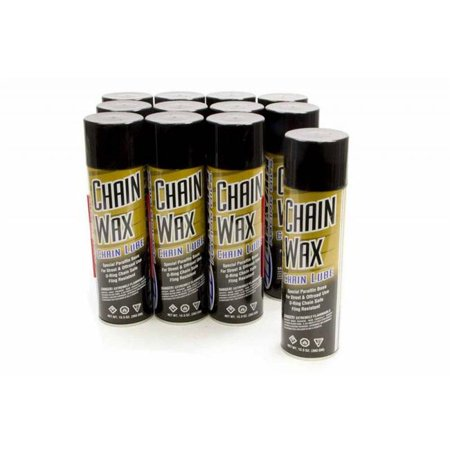 Maxima Racing Oils 74920 Chain Wax Chain Lube Conventional 13.5 oz Squeeze Bottle - Set of