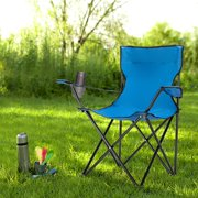 UOCOGA Folding Camp Chair for Adults, Outdoor Sport Chairs with High Back Lightweight Porable Camping Chair