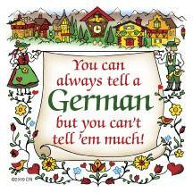 German Gift Idea Magnet (Tell A German)](German Outfit Ideas)