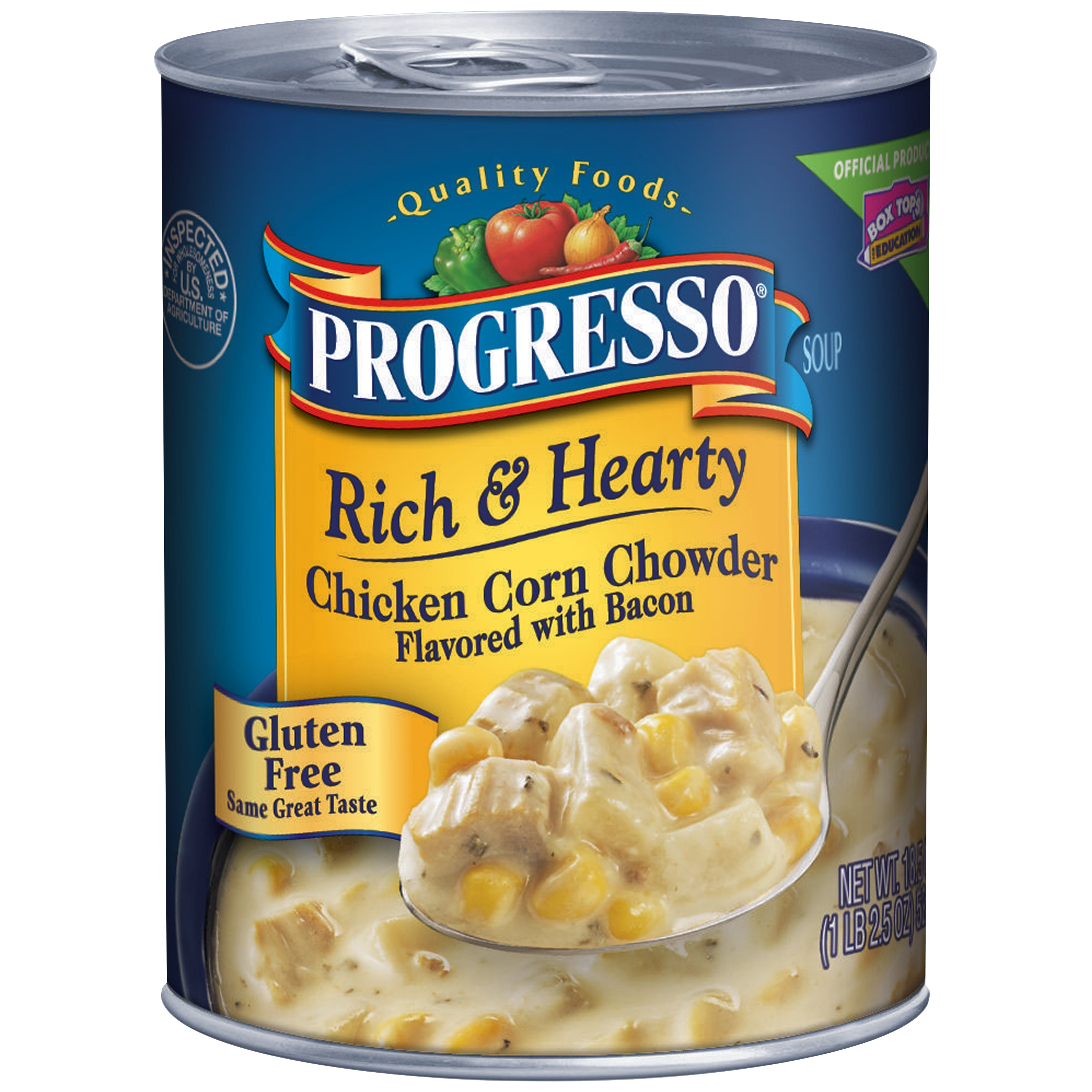 Progresso�� Rich & Hearty Chicken Corn Chowder Soup 18.5 oz. Can