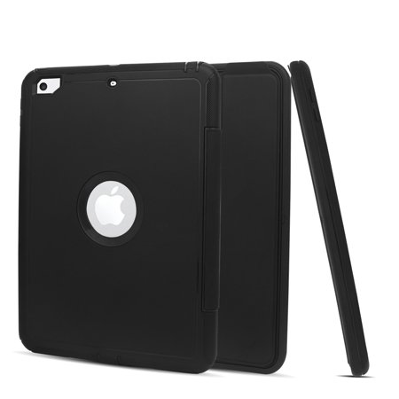 (Mignova Slim Fit synthetic Leather Standing Cover Shell Folding Folio case for New iPad 9.7
