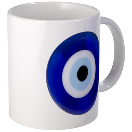 CafePress - Nazar Amulet Evil Eye Protection Mugs - Unique Coffee Mug, Coffee Cup (Harbor Cup 3 Eye)