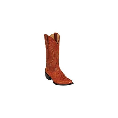 Ferrini 1031113095D Mens Caiman Tail Round-Toe Electric Boots 9. 5D by
