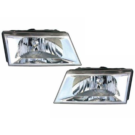 2003 2004 Mercury Grand Marquis New Headlights Set Fo2502187 Fo2503187