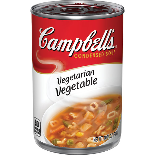 Campbell's Condensed Vegetarian Vegetable Soup, 10.5 oz.
