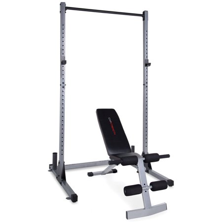 Cap strength power rack with fid bench Cap strength weight bench
