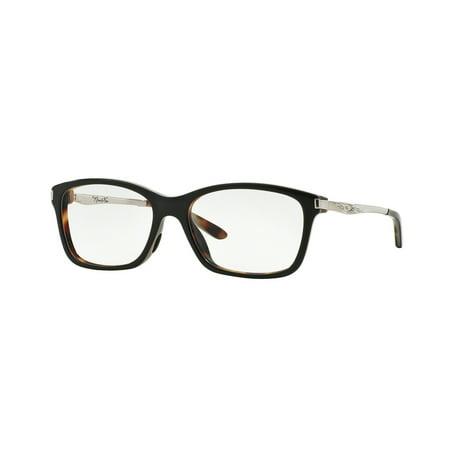 Oakley 0OX1127 Nine-To-Five Full Rim Rectangular Eyeglasses for Womens - Size (Oakley Frame Size Guide)