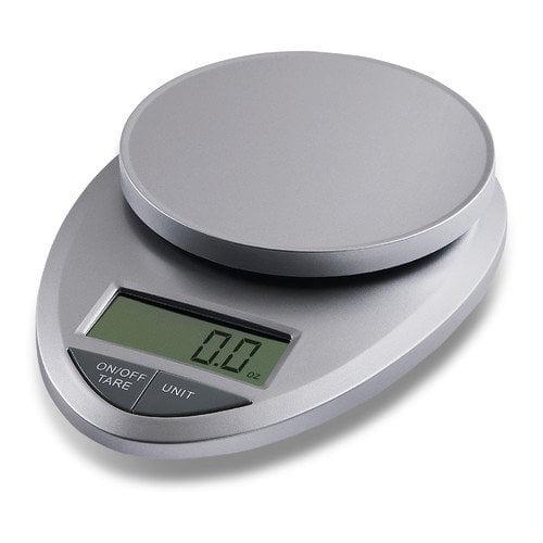 EatSmart Precision Pro Digital Kitchen Scale in Silver