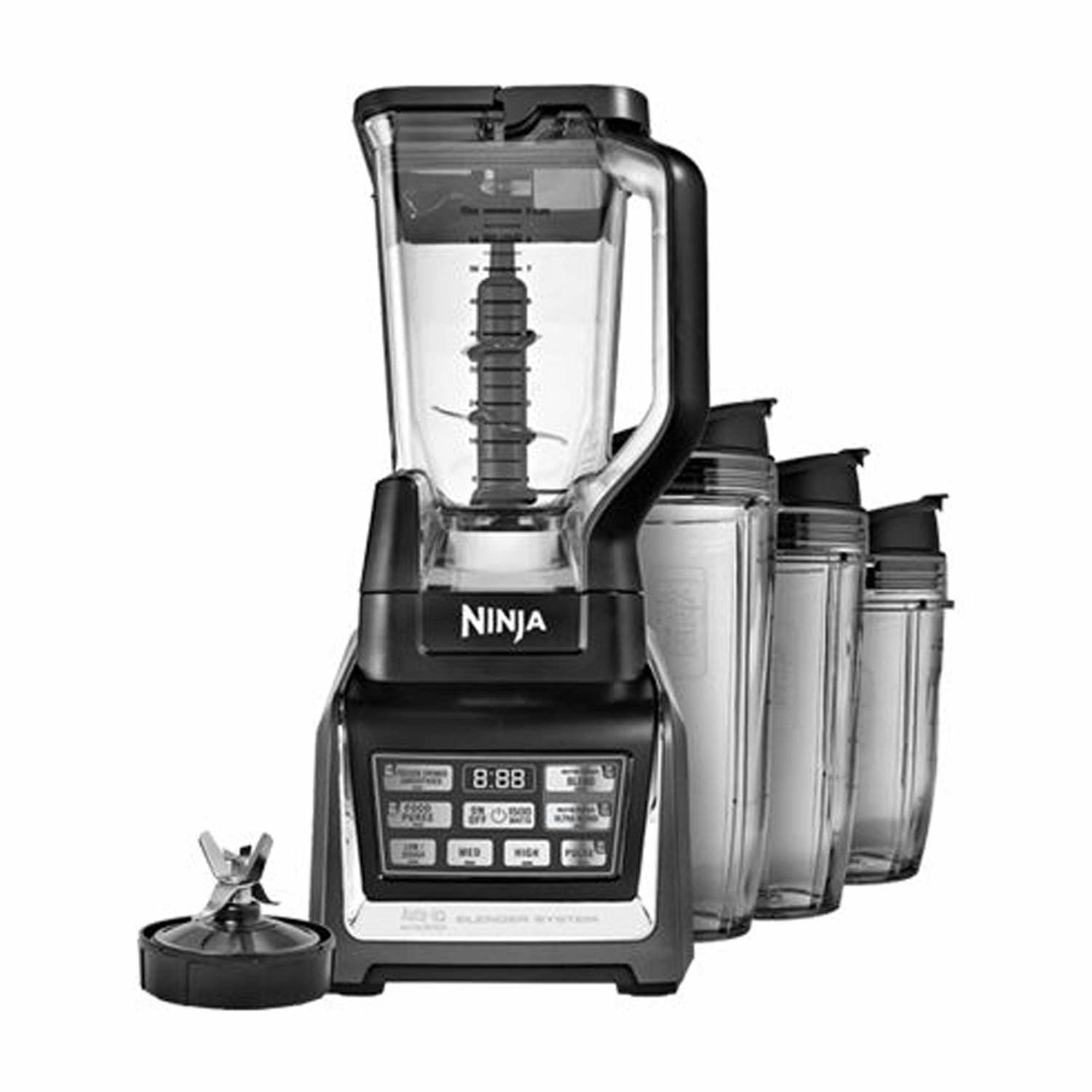 Nutri Ninja Ninja Blender Duo with Auto-iQ BL642 (Certified Refurbished)