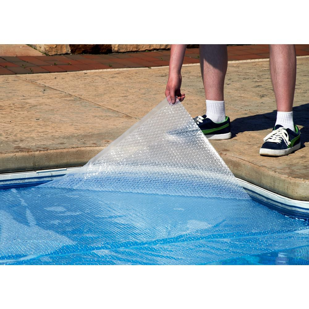 Blue Wave Magni-Clear Solar Blanket for In-Ground Pools, Clear, 18' x 36'