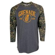 Grenade Men 2000 Raglan Shirt M